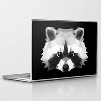 raccoon Laptop & iPad Skins featuring Raccoon by Taranta Babu