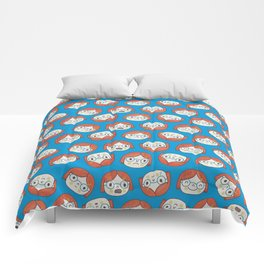 Pattern Project #13 / Mood Swings Comforters