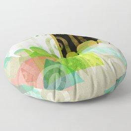 FELINE REFLECTIONS Floor Pillow