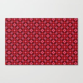 Strawberry burst Canvas Print