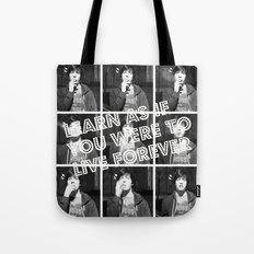 Live Forever  Tote Bag