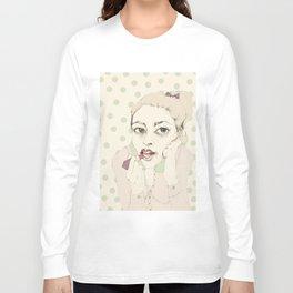 lipstick Long Sleeve T-shirt