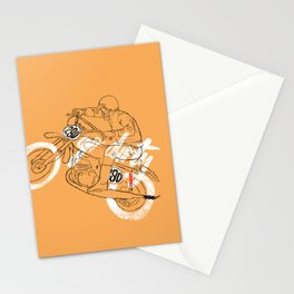 go dirty Stationery Cards