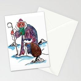 Sasha the Christmas Tiger Stationery Cards