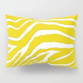 Zebra Golden Yellow Pillow Sham