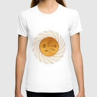 sun and moon T-shirts featuring sun-moon by Vila Propuh