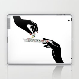 Flower roll / Illustration Laptop & iPad Skin
