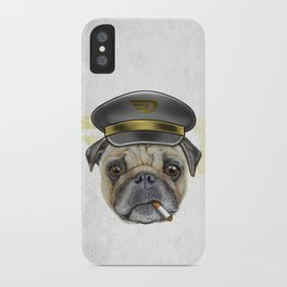 Pug Commander  iPhone Case