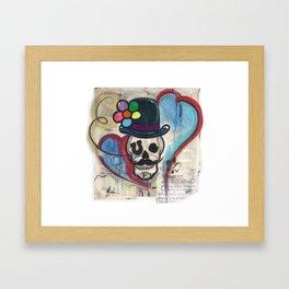 Carnie boy forever Framed Art Print