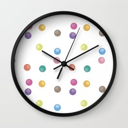 Bubble pattern 2 Wall Clock