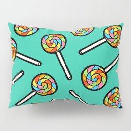 Rainbow Lollipop Pattern Pillow Sham