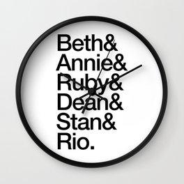 Good Girls Wall Clock