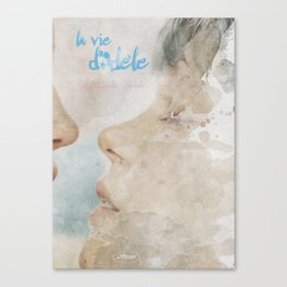 La vie d'Adele, movie poster - chapter two - alternative playbill Canvas Print