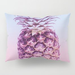 Light Blue and Pink Pineapple Pillow Sham