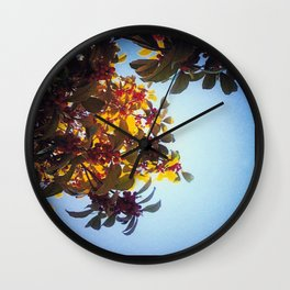 The Red Berry Tree (An Instagram Series) Wall Clock