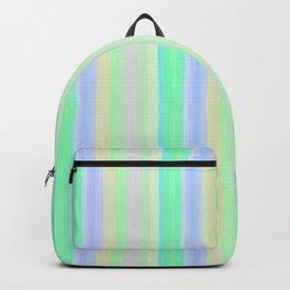 Turquoise Yellow Scrapbook Sherbert Backpack