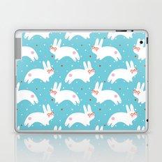 Happy Bunnies with Glasses Laptop & iPad Skin