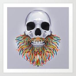 Will it beard Art Print