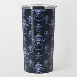 Lyon Head Ornate Motif Pattern Travel Mug