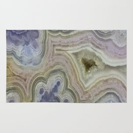 Royal Aztec Lace Agate Rug