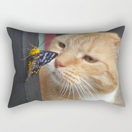 Max and Butterfly Rectangular Pillow