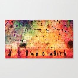 kotel Canvas Print