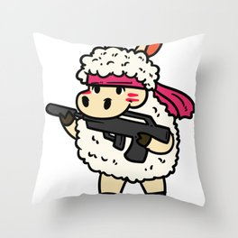 shooting gift sport pistol rifle gun Throw Pillow