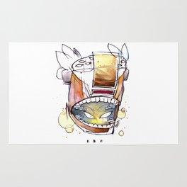 Coffee Face 05 Rug