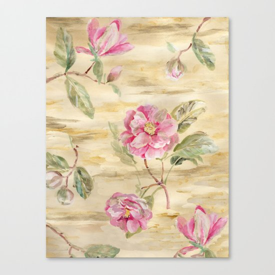 magnolia gold Canvas Print