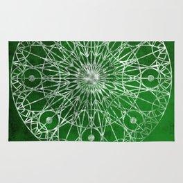 Rosette Window - Emerald Rug