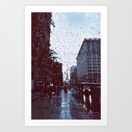 Rain In My Eyes Art Print