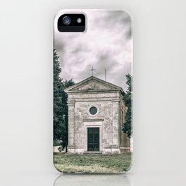 Cappella della Madonna di Vitaleta iPhone Case