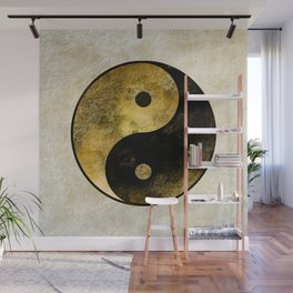 Yin and Yang Wall Mural