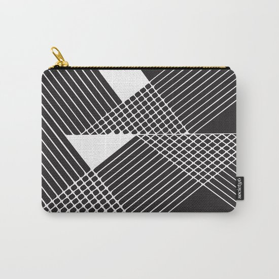 Night Stripes Carry-All Pouch