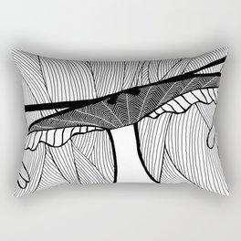 la femme 08 Rectangular Pillow