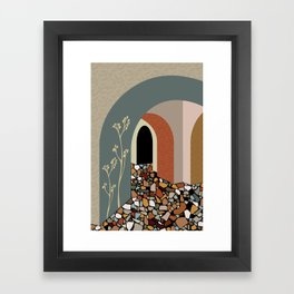 Palette 1 Framed Art Print