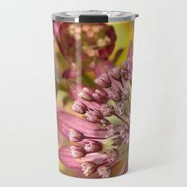 Purple Burst of Flowers 103 Travel Mug