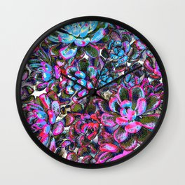Floral tribute [pixie] Wall Clock