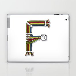 MACHINE LETTERS - F Laptop & iPad Skin