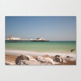 Worthing Beach West Sussex Canvas Print