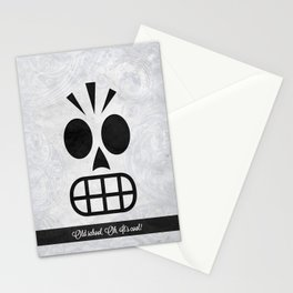 GRIM FANDANGO - OLD SCHOOL, OH, IT'S COOL! Stationery Cards