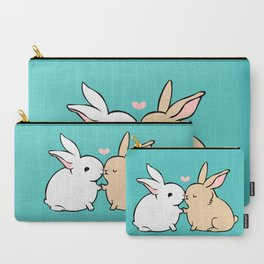 Bunny Kisses Carry-All Pouch