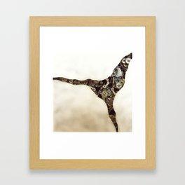 Steampunk Gears Framed Art Print