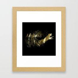 Belgian shepherd - Malinois Framed Art Print