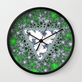 Fractal Triangle Wall Clock