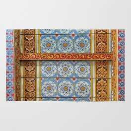 Temple Celling Rug