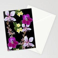 FLOWERED PHOTO DESIGN Stationery Cards