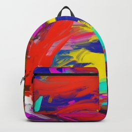 Rainbow Abstract II Backpack
