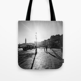 Dragged Into Sunlight Tote Bag