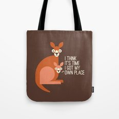 Bound to Happen Tote Bag